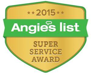 2015 Angies list award
