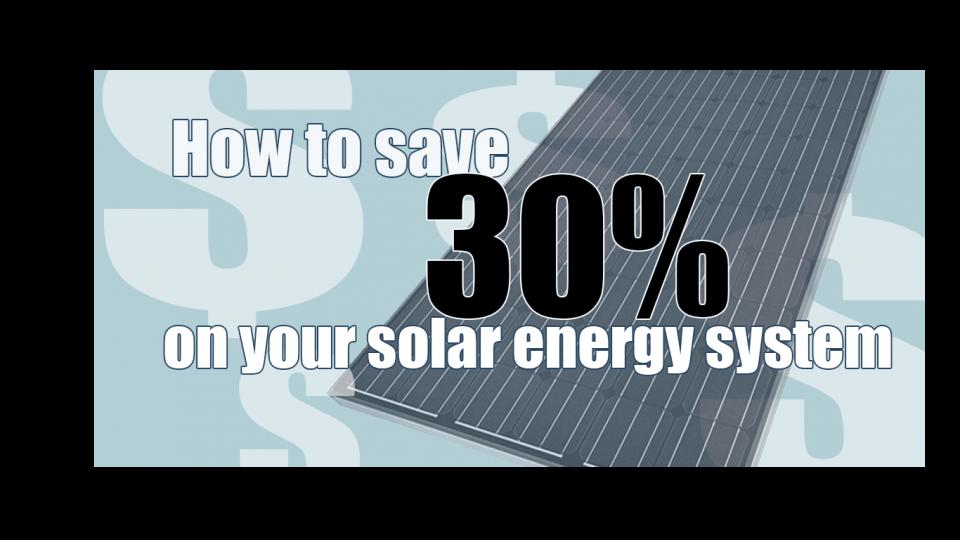 save on solar