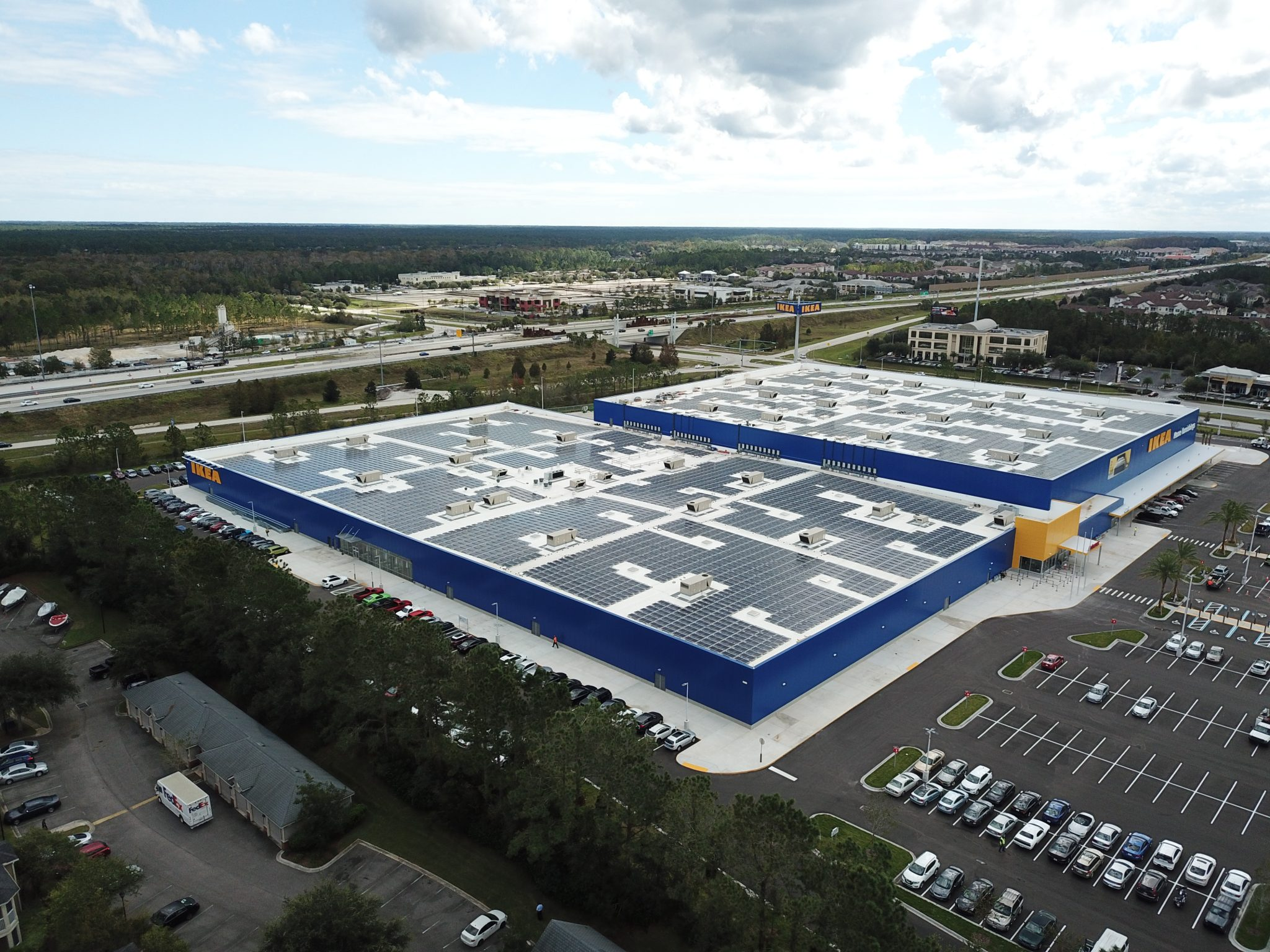 Commercial Installation - A1A Solar Contracting